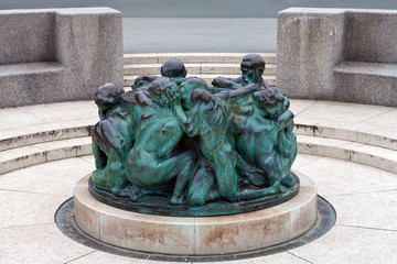 The Well of Life, sculpture in Zagreb, Croatia