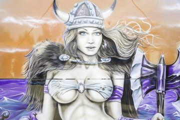 Viking woman sexy