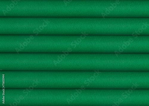 Stack of green woolen fabrics - 71603944