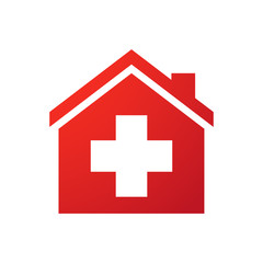 House icon with the swiss flag