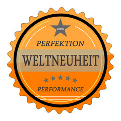 ql77 QualityLabel - Perfektion Weltneuheit Perform. orange g2054