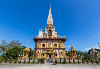 Wat Chalong, Phuket, Thailand.
