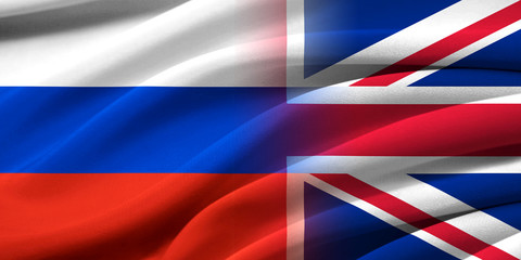 Great Britan and Russia.