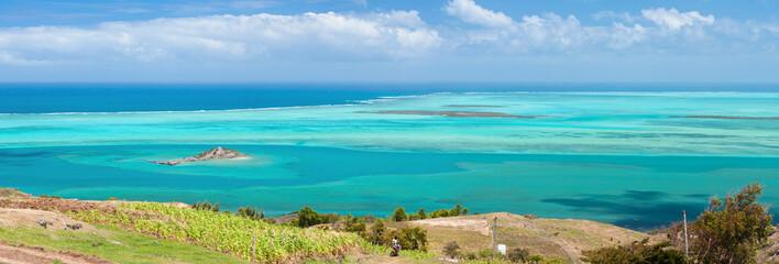 Rodrigues, île Hermitage et lagon