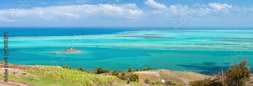 Papiers peints Ile Rodrigues, île Hermitage et lagon