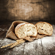 Leinwanddruck Bild - bread