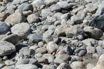 sea stones background texture