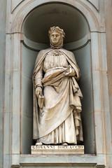 Giovanni Boccaccio statue in Florence