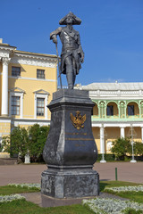 Monument to Paul I, Pavlovsk Palace, Saint Petersburg