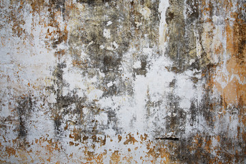 Old plastered stone surface