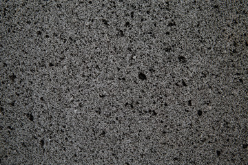 Rough stone surface with small pores