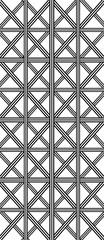 Stripe plaid pattern