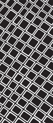 Retro square tile pattern
