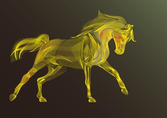 Ornamental horse