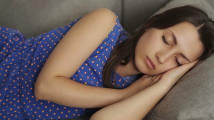 Girl Falls Asleep