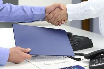 Business Vertragsabschluss Bewerbung