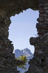 Alpiner Ausblick