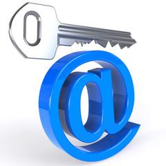 E-mail Schlüssel