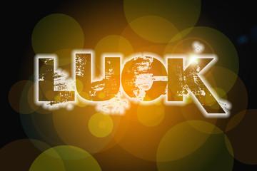 Luck Concept