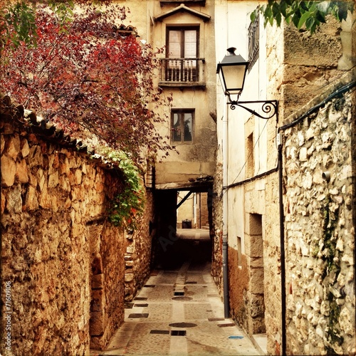 canvas print picture Cuenca in Spain