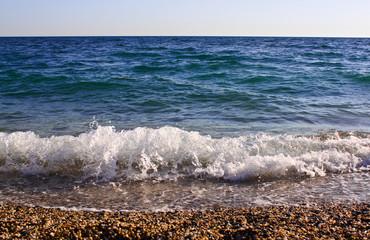 Море, берег, волна