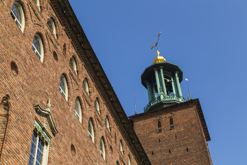 Stockholm's town hall, the Stadshuset