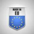 canvas print picture - Made in European Union