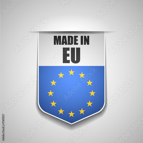 canvas print picture Made in European Union