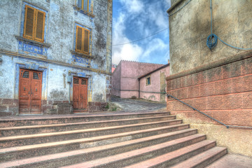 hdr stairs