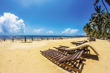sdraio in spiaggia