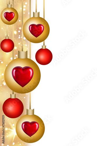 canvas print picture Weihnachten - Dekoration