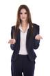 Geschäftsfrau freigestellt