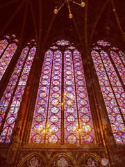 Retro look Sainte Chapelle Paris