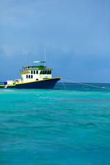 Rest in Paradise - Malediven - Fischerboot im Meer