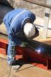 Arc welding steel profiles