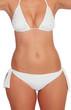 Attractive female body with bikini