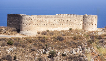 Ottoman Fort at Aptera, Crete