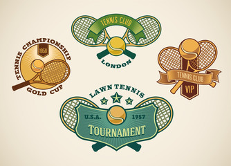 Tennis labels