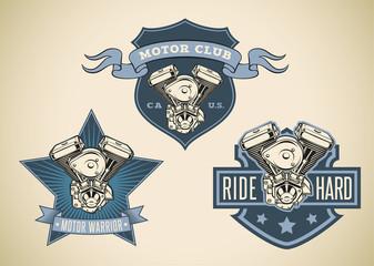 Motor labels