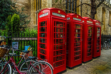 Telephone box/Cambridge