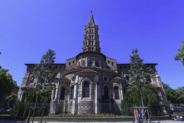 saint Sernin Parvis,1987,  France, Basilique Saint-Sernin de Tou
