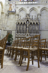chairs in saint louis des chartrons, Bordeaux France