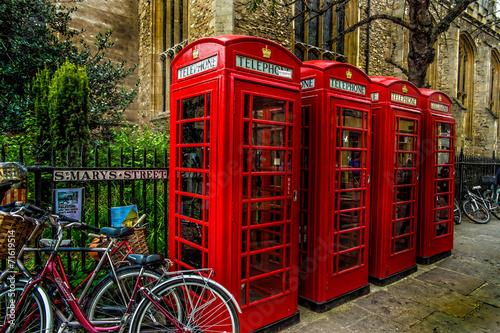 Telephone box/Cambridge - 71619514