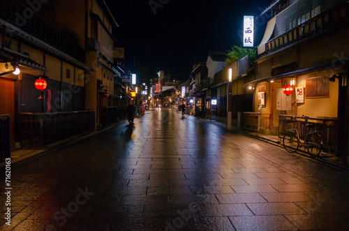 Foto op Plexiglas Japan Stone pavement -石畳-