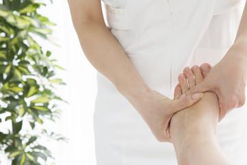 Instep foot massage