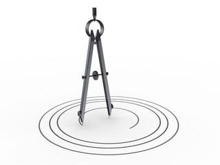 circle drawing compass