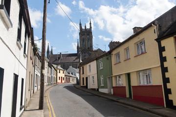Rue de Kilkenny en Irlande