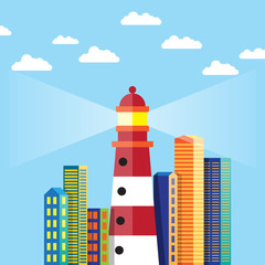 Lighthouse in the City