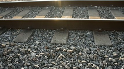 Daytime shot of Railroad Tracks