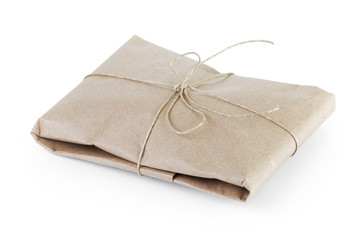 small post packet vintage style parcel or gift